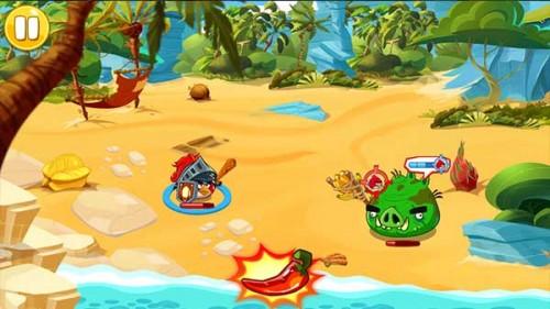 Wutchile im Kampf von Angry Birds Epic einsetzen - (c) Rovio Mobile