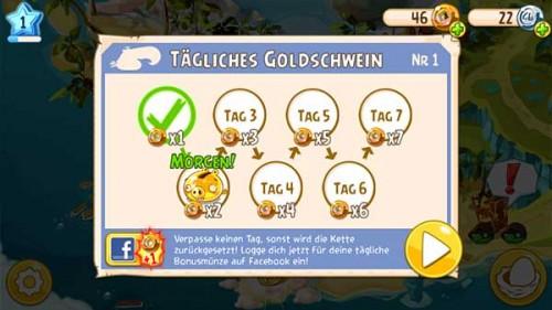 Tägliches Goldschwein in Angry Birds Epic bekämpfen - (c) Rovio Mobile