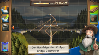Baue Brücken in Bridge Constructor Mittelalter - (c) Headup Games