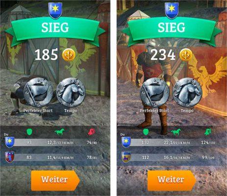 Rival Knights: So wird der Sieg entschieen - (c) Gameloft