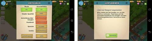Schritt 1: In Boom Beach müsst ihr euch bei Google+ (Android) bzw. Game Center (iOS) verbinden