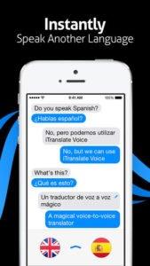 Einfach Text einsprechen und iTranslate Voice übersetzt mit Sprachausgabe - (c) Sonico GmbH