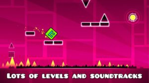 Geometry Dash Screenshot - (c) RobTop Games