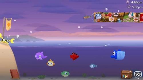 Insgesamt könnt ihr in Fish Out Of Water aus fünf Fischen wählen - (c) Halfbrick