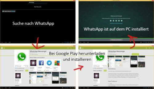 whatsapp am pc schritt f r schritt tutorial mit screenshots touchportal. Black Bedroom Furniture Sets. Home Design Ideas