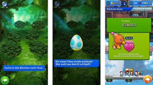 Ein Chao bringt in Sonic Jump Fever Vorteile und sollte immer eingesetzt werden - (c) Sega