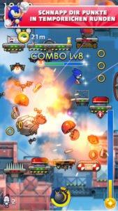 Sonic Jump Fever Screenshot - (c) Sega