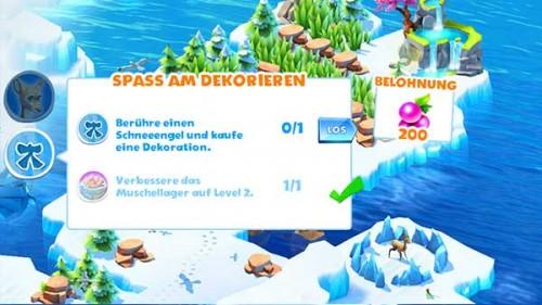 Erfüllt die Aufgaben von Ice Age Adventures und als Belohnung gibt es unter anderem Muscheln