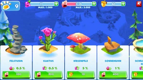 Holt euch den Beeren Bonus in Ice Age Adventures