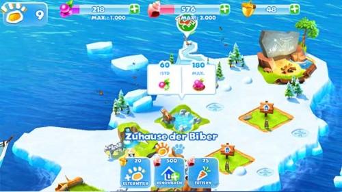 Ice Age Adventures: Beeren in der Siedlung einsammeln