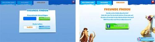 Ice Age Adventures Freunde Code posten