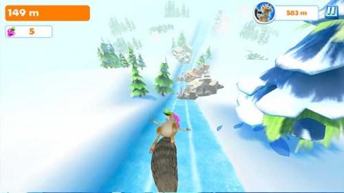 Ice Age Adventures: Bei den Minispielen Beeren einsammeln