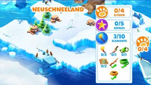 Ice Age Adventures: Die Inseln vollständig abernten