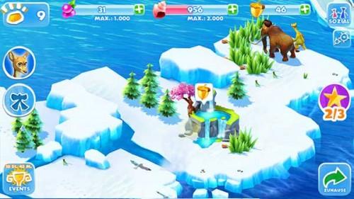 Ice Age Adventures: Regelmäßig die Höhlen erkunden