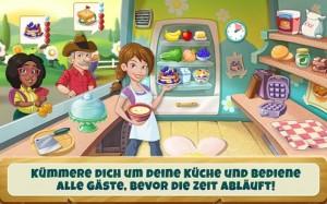 Bereite das Essen in Kitchen Scramble so schnell wie möglich zu - (c) Disney