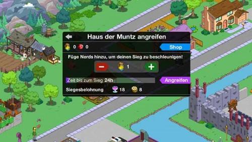 Nerds im Simpsons Springfield Clash of Clones Update