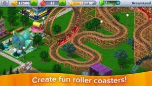 RollerCoaster Tycoon 4 Mobile Screenshot - (c)  Atari