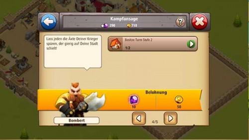 Aufgaben lösen bringt zahlreiche Belohnungen bei Shadow Kings