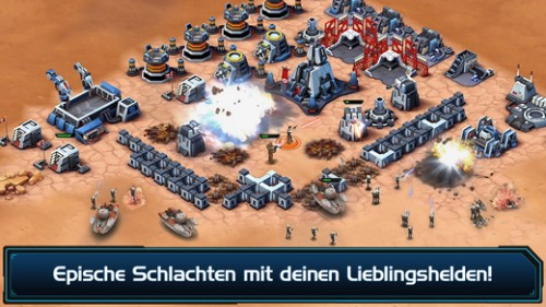 Star Wars Commander Screenshot - (c) LucasArts