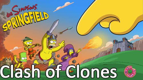 Tipps zum Simpsons Springfield Clash of Clones Update - (c) EA Mobile