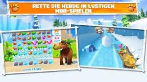 Zahlreiche Minispiele erwarten dich in Ice Age Adventures - (c) Gameloft
