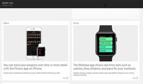 Apple Watch auf der Keynote vorgestellt