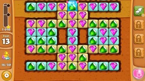 Spielzeuge in Diamond Digger Saga so früh wie möglich aufdecken [Quelle: King.com]
