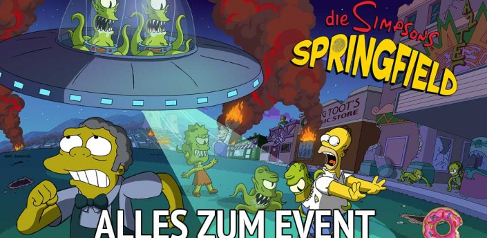 Alles zum Simpsons Springfield Treehouse of Horror 2014 Event