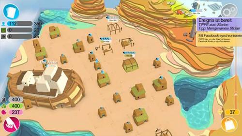Mit Weyworld erbaust du eine neue Stadt mit weiteren Karten