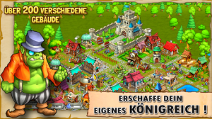 Kingdoms & Monsters: Erschaffe dein eigenes Königreich - (c) Mobile Monsters GmbH
