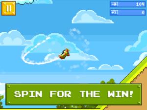 RETRY mit komplexerer Steuerung als Flappy Bird - (c) Rovio