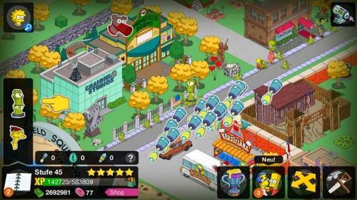 Rigelianer antippen und Sonden in Simpsons Springfield erhalten