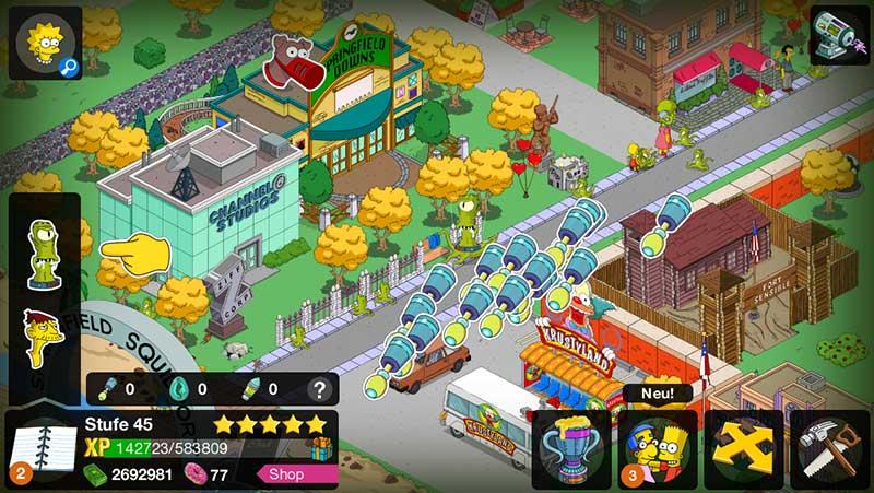Rigelianer antippen und Sonden in Simpsons Springfield erhalten – (c