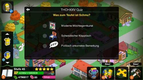 THOHXXV Quiz Was zum Teufel ist Schmu? Die Lösung ist 'Moderne Möchtegernkunst'