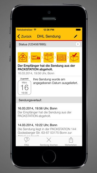 dhl paket app f r android und ios unterwegs wissen wo sich die lieferung befindet touchportal. Black Bedroom Furniture Sets. Home Design Ideas