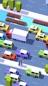 Crossy Road Screenshot - (c) Hipster Whale