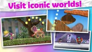 Run Sackboy Run: Unterschiedliche Welten beim Endless Runner von PlayStation Mobile