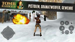 Die Steuerung von Tomb Raider 2 erweist sich als sehr schwer auf Smartphones und Tablets - (c) Square Enix