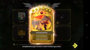 Elune Saga - Screenshot experience