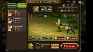 Elune Saga - Screenshot fighting with friends
