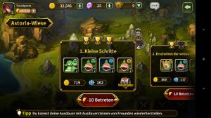 Elune Saga - Screenshot - gold missions