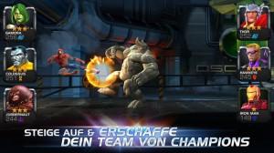 Marvel Sturm der Superhelden Screenshot - (c) Kabam