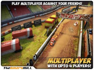 Mini Motor Racing mit Multiplayer Modus - (c) The Binary Mill