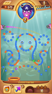 Peggle Blast Screenshot - (c) EA