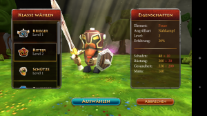 Screenshot Elements Epic Heroes - Krieger