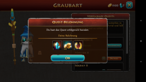 Screenshot Elements Epic Heroes - quest reward