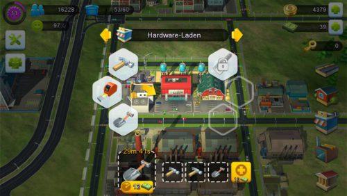 Da bei den Gewerbegebäuden jeweils nur ein Gegenstand hergestellt wird, sind weitere Slots unerlässlich