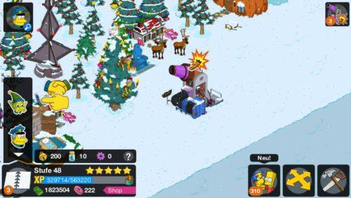 Mit der Elfkanone können Elfen zum Nordpol geschossen werden