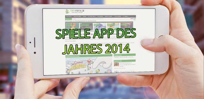 Spiele App des Jahres 2014