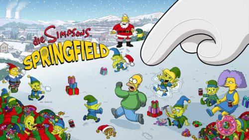 Simpsons Springfield Winter 2014: Tipps, Storyline, Preise › App